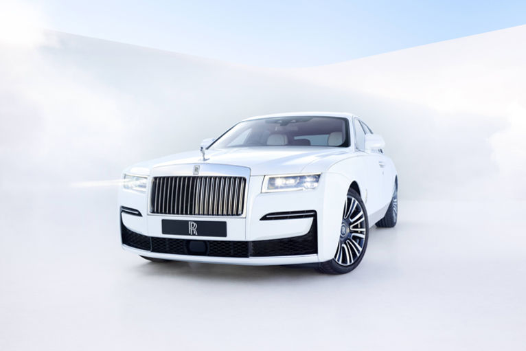 White Angel Rolls Royce Ghost 2020