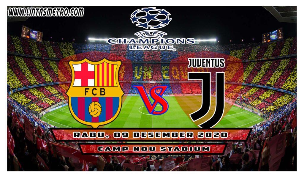 Barcelona vs Juventus Prediksi Liga Champions 2020/21