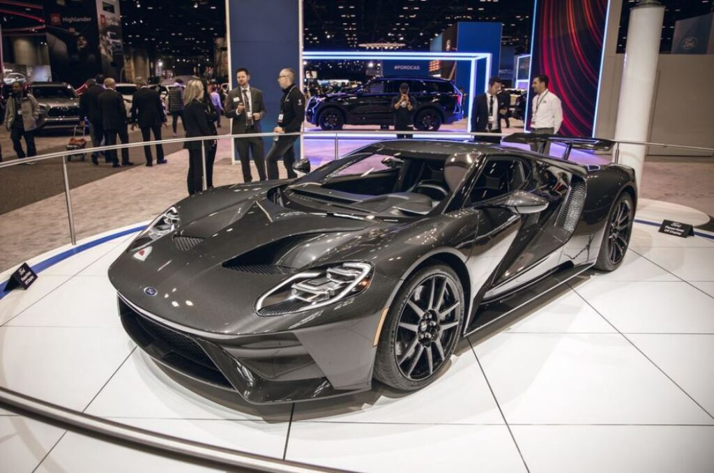 Ford GT One Exclusive And Expensive