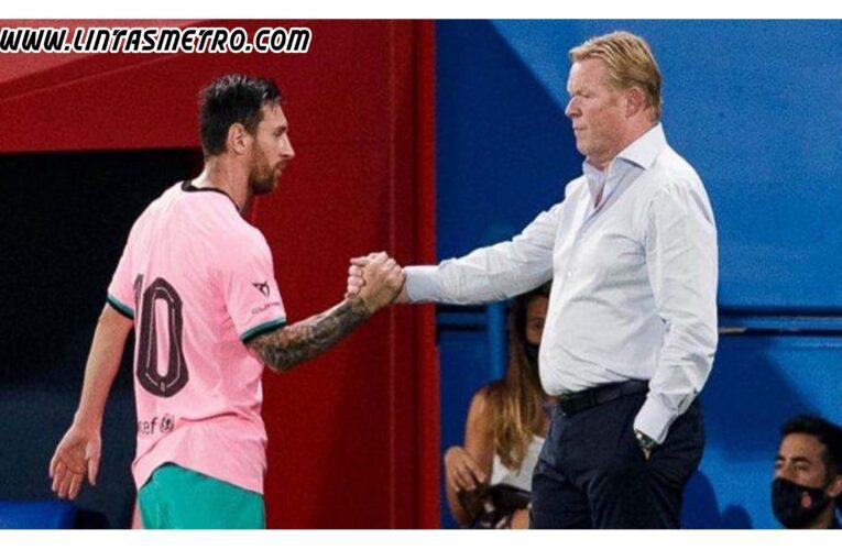 Lionel Messi Di Persilakan Hengkang Oleh Calon Presiden Barcelona