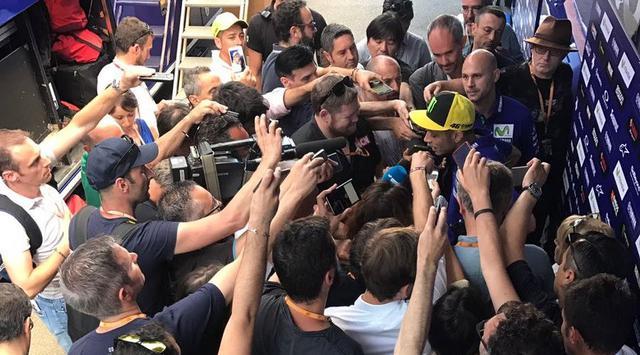 Rossi Ungkap Alasan Gagal Naik Podium di MotoGP Italia