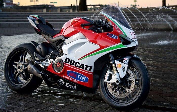 Ducati Panigale V4 Tribute Almarhum NickyHayden