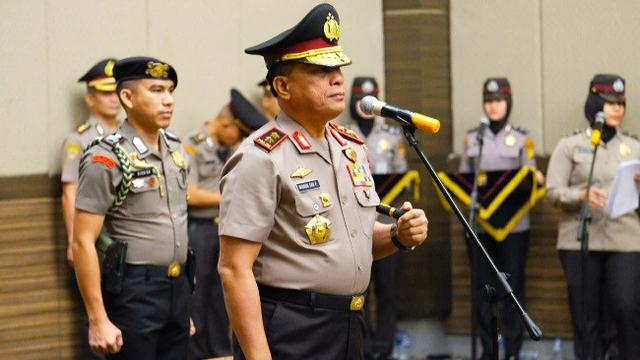 Kapolri Pecat tiga kapolda Papua Riau