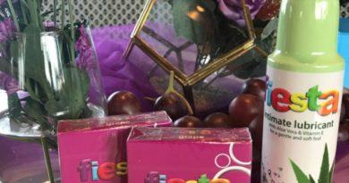 Fiesta Grape dan Fiesta Intimate Lubricant with Aloe Vera & Vitamin E