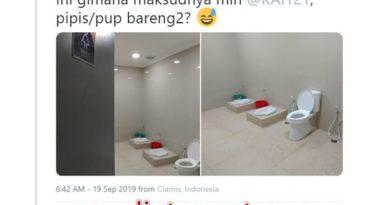 Toilet Aneh Tanpa Sekat Di Stasiun Ciamis