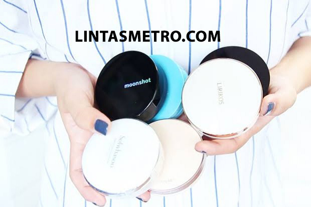 PRODUK CUSHION KOREA DENGAN REVIEW POSITIF