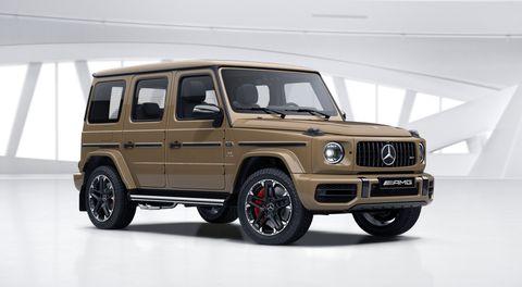MercedesBenz G-Class Versi Mobil Listrik