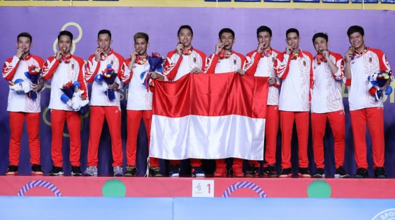 Indonesia Pertahankan Tradisi Emas Beregu Putra SEA Games 2019