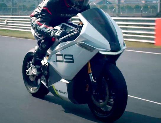 Kemampuan Motor Listrik Superbike Segway Apex