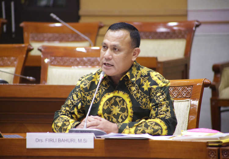 Janji Komjen Firly usai Dilantik jadi Ketua KPK Nanti.