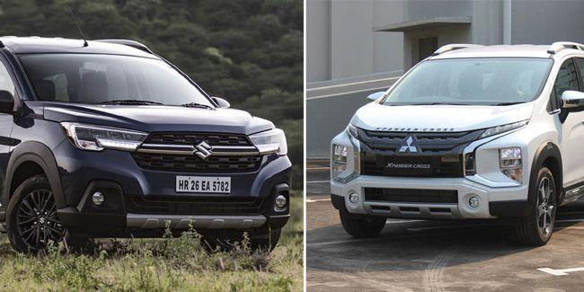Suzuki Ertiga Crossover vs Xpander Cross