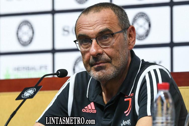 Maurizio Sarri Susah Membuat Pemain Juventus Paham