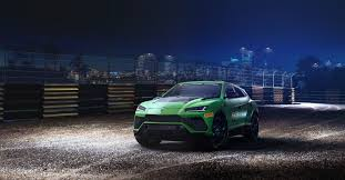 Lamborghini ST-X Super SUV Siap Terjun