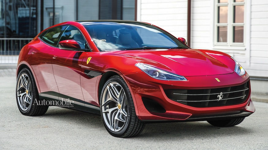 Peluncuran Tipe SUV Ferrari Semakin Dekat
