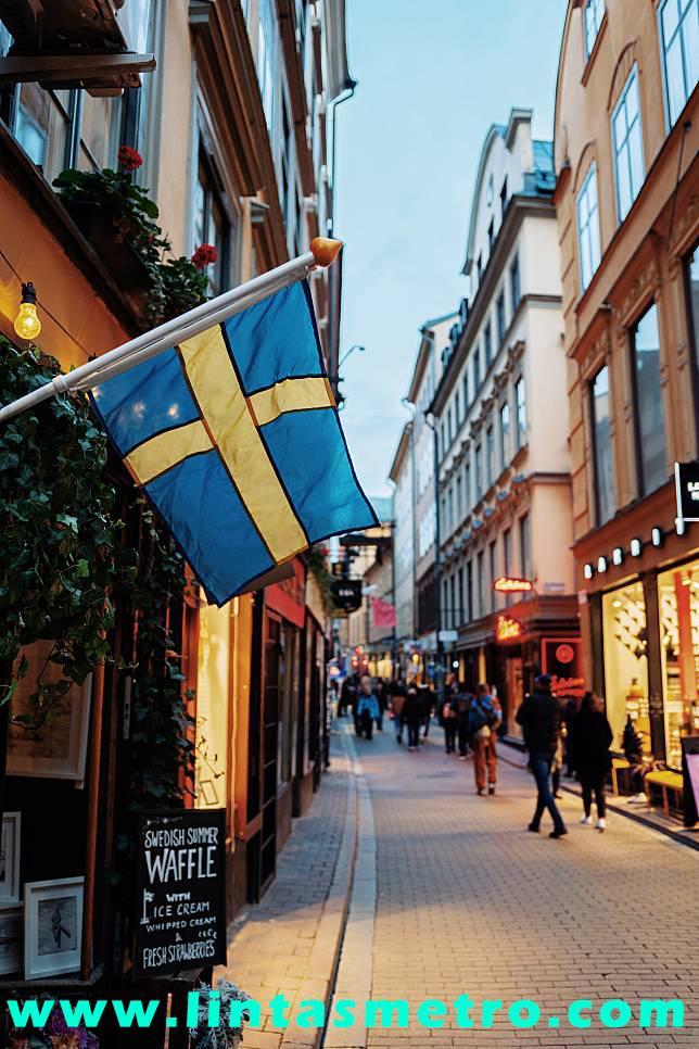 Swedia Tak Lockdown Demi Ekonomi Tidak Hancur