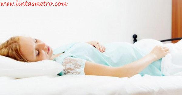 Begini Tips Posisi Tidur agar Nyaman setelah Melahirkan