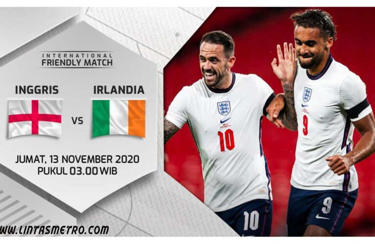Inggris vs Republik Irlandia Friendly Match
