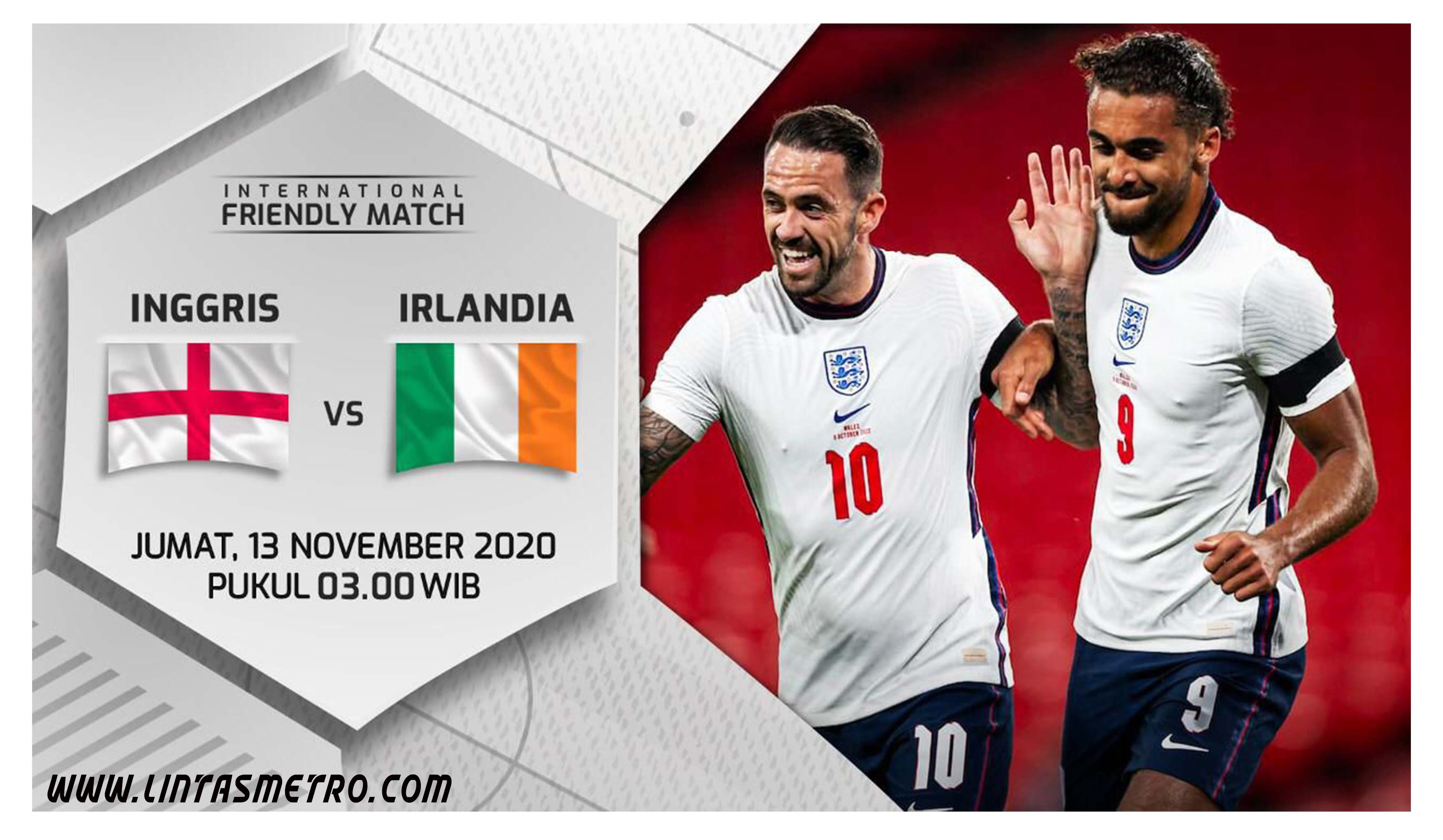 Inggris vs Republik Irlandia