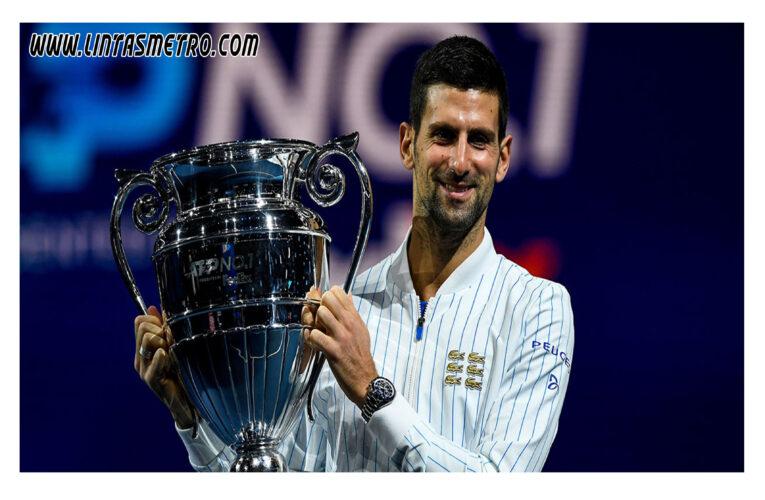 Novak Djokovic Petenis Peringkat No 1 Dunia