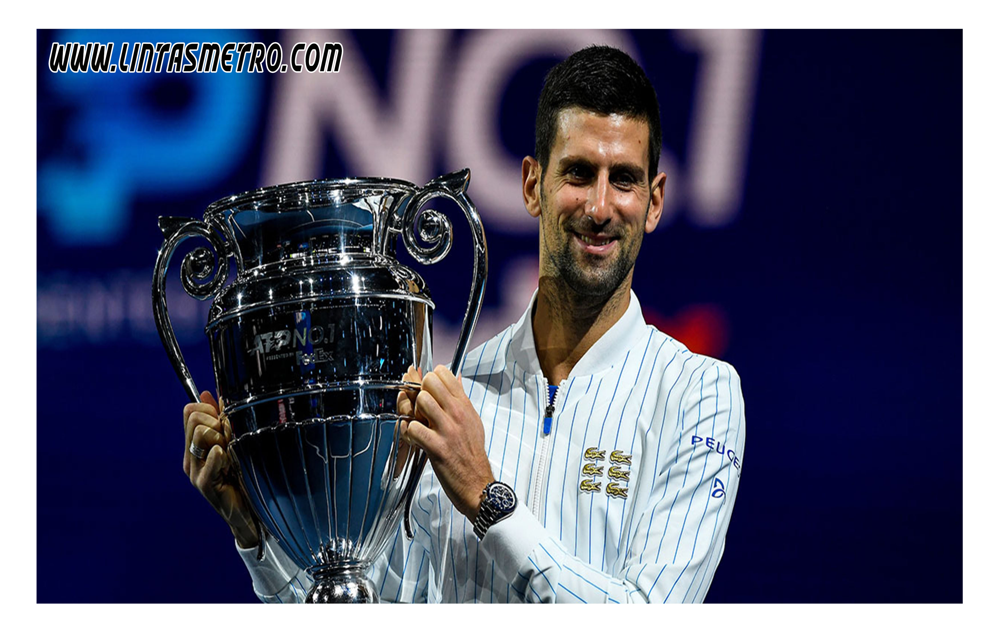Novak Djokovic Petenis No 1 Dunia