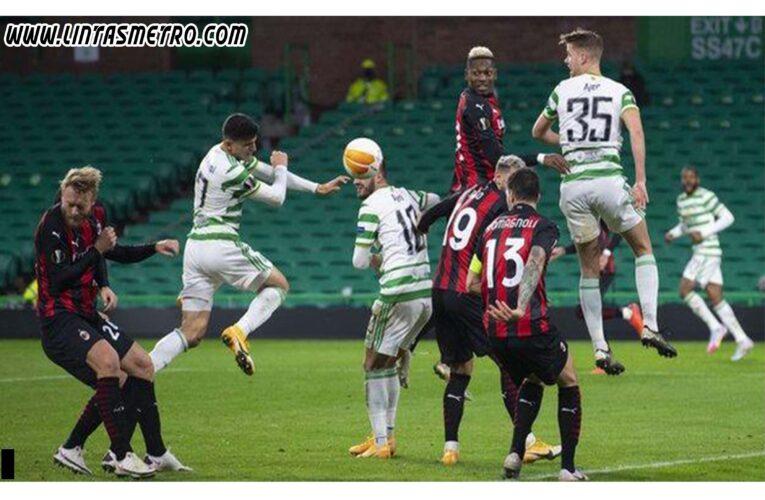 AC Milan vs Glasgow Celtic Prediksi Liga Europa 2020/21