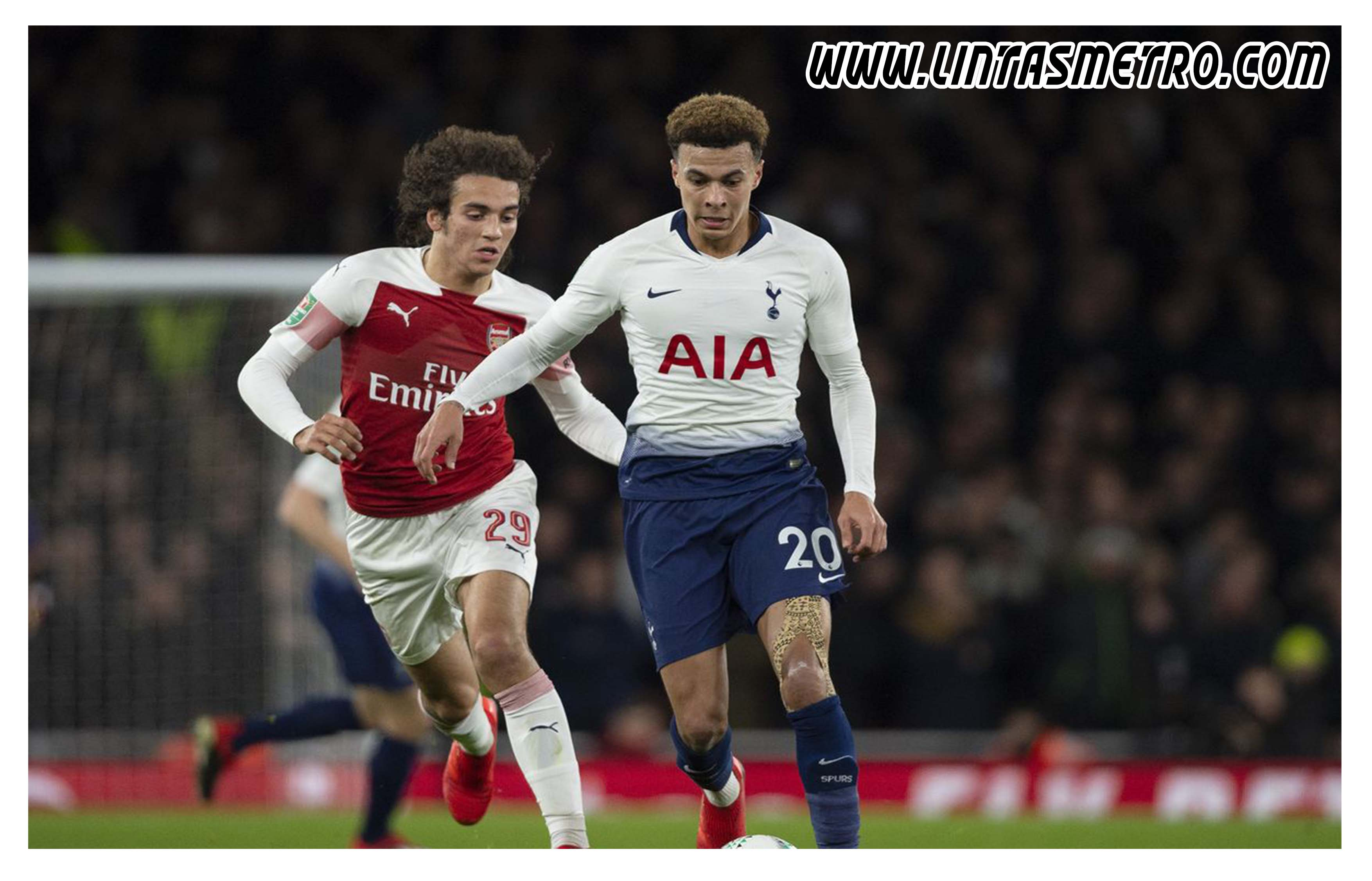 Tottenham Hotspur vs Arsenal Prediksi Liga Inggris 2020/21