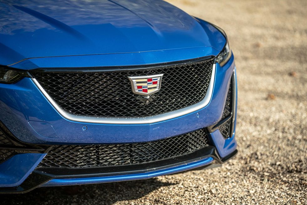 Cadillac CT5 350T Lineup Of Sports Sedans